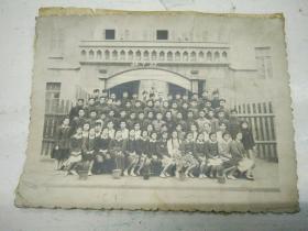 1954年哈市第八中学校初中毕业照
