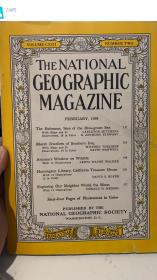 the national geographic magazine 1958 2月