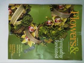 Flowers & 2011/10 插花花束捧花婚礼时尚装饰艺术英文原版杂志