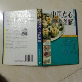 中国点心制作图解(有写字 品如图)