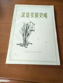 汉语发展史略