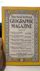 the national geographic magazine 1956年 3月