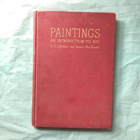 绝版 1935年初版   《paintings —an introduction to art 》 (英文原版) 精装