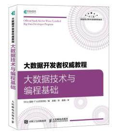 大数据开发者权威教程大数据技术与编程基础