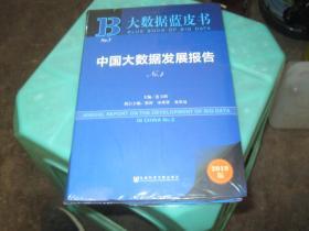 大数据蓝皮书:中国大数据发展报告No.3 2019版 没有拆封    货号13-6