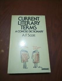 CURRENT LITERARY TERMS  -A CONCISE DICTIONARY