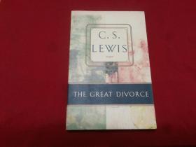 权威英文原版小数:C. S. Lewis著【The Great Divorce】梦幻巴士或天渊之别,大32开本,实物拍照