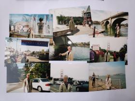 """2004年旅游美国加州""""伦敦桥""""""""旧金山金门大桥九曲花街""""""""克罗拉多美少女宾馆""""拍摄的照片12张(15乘10厘米)"""