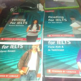 Collins     English   for   Exams     4本一套合售(配4张光盘)盘好能用