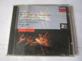 CD  光盘  唱片     柴可夫斯基    天鹅湖      安塞美指挥