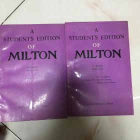 密尔顿诗歌全集详注上下册