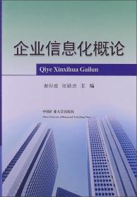 企业信息化概论 谢印成,张颖洁 中国矿业出版社 978756461743