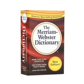 英文原版 2016新版韦氏小词典 小红 The Merriam-Webster Dictionary