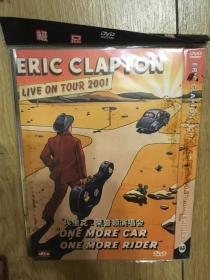 实拍 音乐 DVD Eric Clapton: One More Car, One More Rider - Live on Tour 2001 (2002)