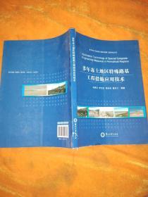 多年冻土及盐渍土地区道路工程研究丛书:多年冻土地区特殊路基工程措施应用技术