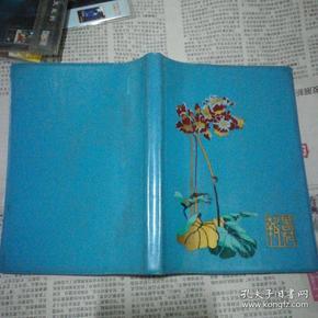 八十年代塑料皮日记本(已用)