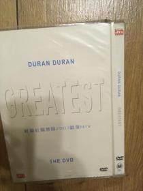 实拍 音乐DVD 杜兰杜兰 Duran Duran  Greatest