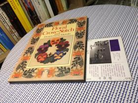 英文原版  Floral Cross-Stitch 花卉十字绣 【存于溪木素年书店】