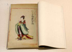 六壬图像.二十四卷.清彩绘钞本复印件