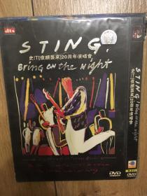 实拍 音乐 DVD Sting Bring on the Night 史汀 夜颜来袭 20周年演唱会
