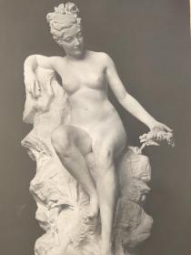 老 照片 德国 二十世纪初 美女雕像 20x30 15.5x24cm
