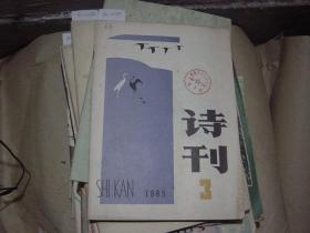 诗刊1985-3[6A2260]