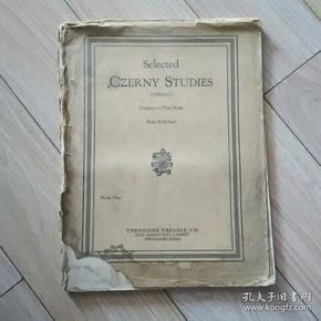 澶��戒�璋�  ;  selected   czerny  studles   锛�涓���甯���澶у��1952骞村�句功棣���涔�锛��充�涔�