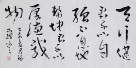 當代藝術家協會副主席王丞手寫 !!天行健1987