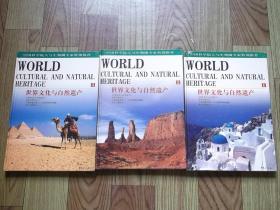 世界文化与自然遗产 全三册