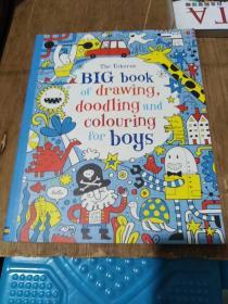 BIGbookofdrawing.doodlingandcolouringforboys(英语绘画本)