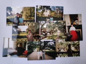 """2003年旅游美国新奥尔良""""种植园""""拍摄的照片8张(15乘10厘米)"""