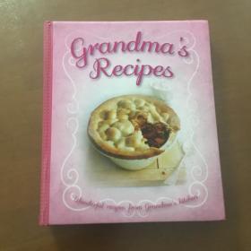 Grandmas Recipes by Bonnier Books Ltd(16开精装 英文原版)