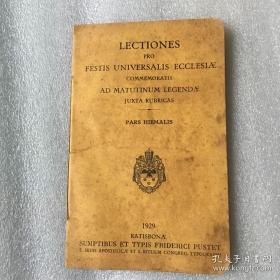 Lectionaries 经文