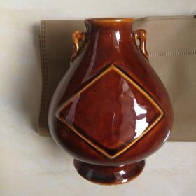 葫芦型双耳小瓶葫一个,罕见,获布鲁塞尔博览金会金奖