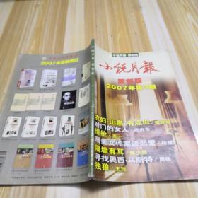 小说月报原创版2007 3