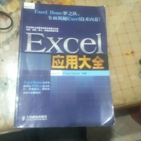 Excel应用大全:Excel Home技术专家团队又一力作