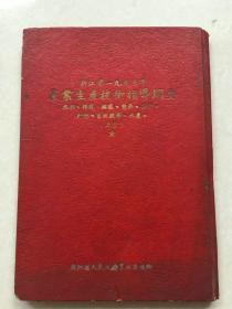 1953年农业生产技术指导纲要