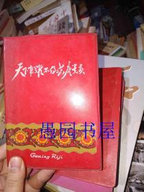 文革.1971年红塑封套笔记本《天下事难不倒共产党员》内二红灯记插图.