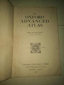 民国时期英文版《世界地图集》(缺封面封底)