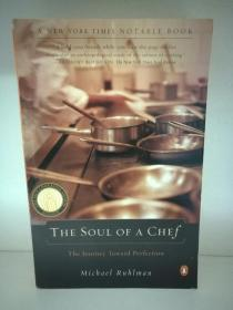The Soul of a Chef:The Journey Toward Perfection by Michael Ruhlman (烹调)英文原版书
