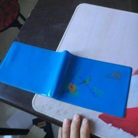 老笔记本封皮  ——上海蓝色