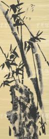 著名画家、大庆市美协会副秘书长 高继叶 2012年亲笔签名 丝网版画《四君子之竹》一幅(版号随机,所售编号为60-100/180,作品得自于艺术家本人!) HXTX110972