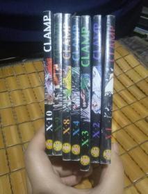 CLAMP(1、2、3、4、8、9、10)7本合售(货号:4-2)