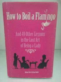 如何烹饪一只火烈鸟:成为淑女的49堂课 How to Boil a Flamingo: And 49 Other Lessons in the Lost Art of Being a Lady by Allison Vale and Alison Rattle (两性)英文原版书