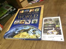 HISTORY OF OUR WORLD :  PEOPLE,PLACES,AND IDEAS   我们的世界历史 — 人、地点和想法  英文原版教材美国原版教材英文教材//