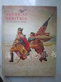 American Heritage The Magazine of History December 1976 Volume ⅩⅩⅦ Number 1【大16开精装 英文原版】(美国遗产历史杂志1976年12月第七卷第1期)