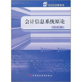 会计信息系统原论/会计信息化丛书