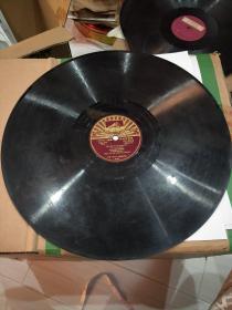老唱片日本舞曲。《妖精的踊跃》《舞曲》。大唱片30cm。