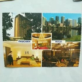 《外国明信片》大饭店。未使用。