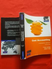 正版 Cost Accounting:A Managerial Emphasis: Fourteenth Edition(内也有笔记划线)